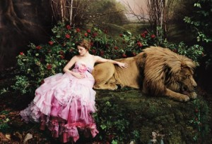Photo of Drew Barrymore by Annie Leibovitz for Vogue